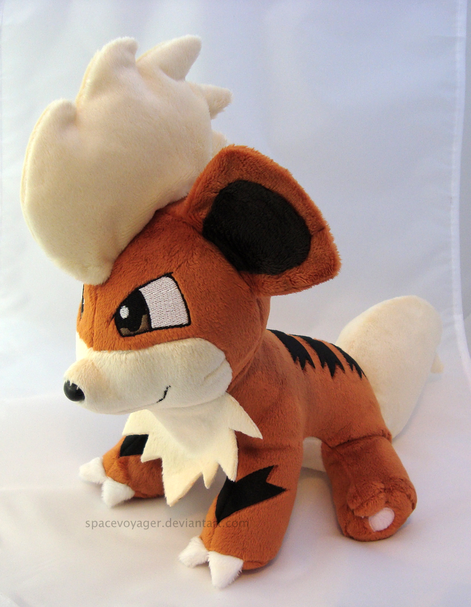 Growlithe by PlanetPlush