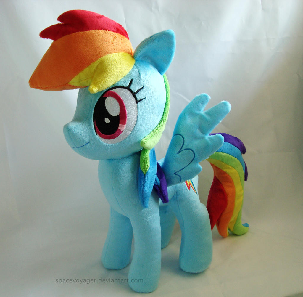 Rainbow Dash - new pattern by SpaceVoyager