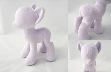 Pony Prototype - Pattern Coming Soon! by PlanetPlush