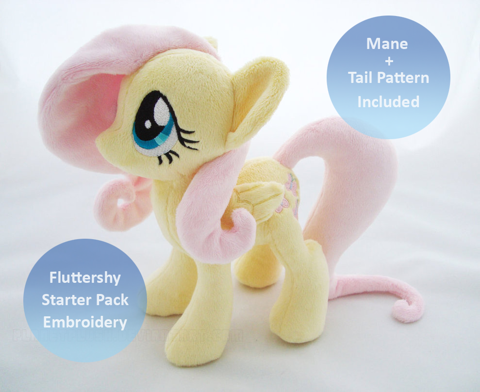 Fluttershy Starter Pack by PlanetPlush