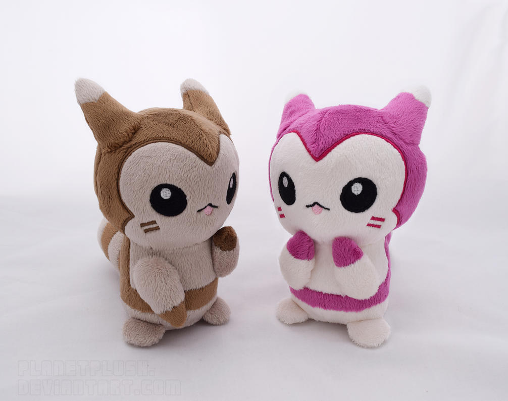 Furret Pokedolls by PlanetPlush