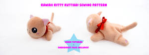 Kawaii Kitty Kuttari Sewing Pattern