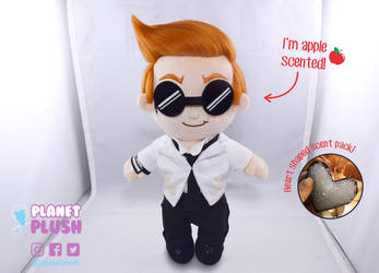 Apple Scented Crowley Plush - Good Omens