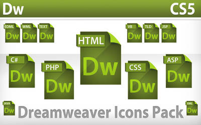 Dreamweaver Icons Pack