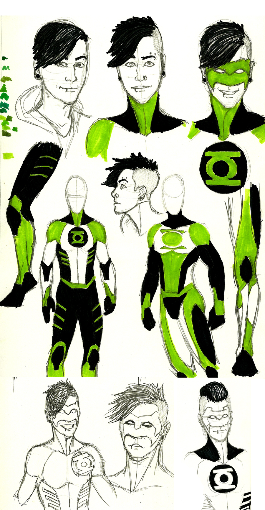 What if    with Kyle Rayner by hipsterfarmgirlYoung Justice Kyle Rayner
