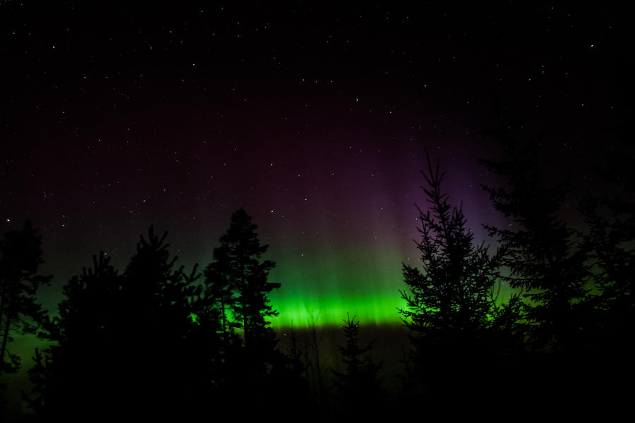 Aurora Borealis #1 by Diarmuidi