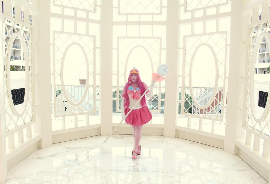 Princess Bubblegum- Protect the Gazebo by RobinYume