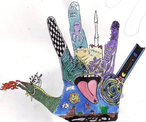 Trippy Hand