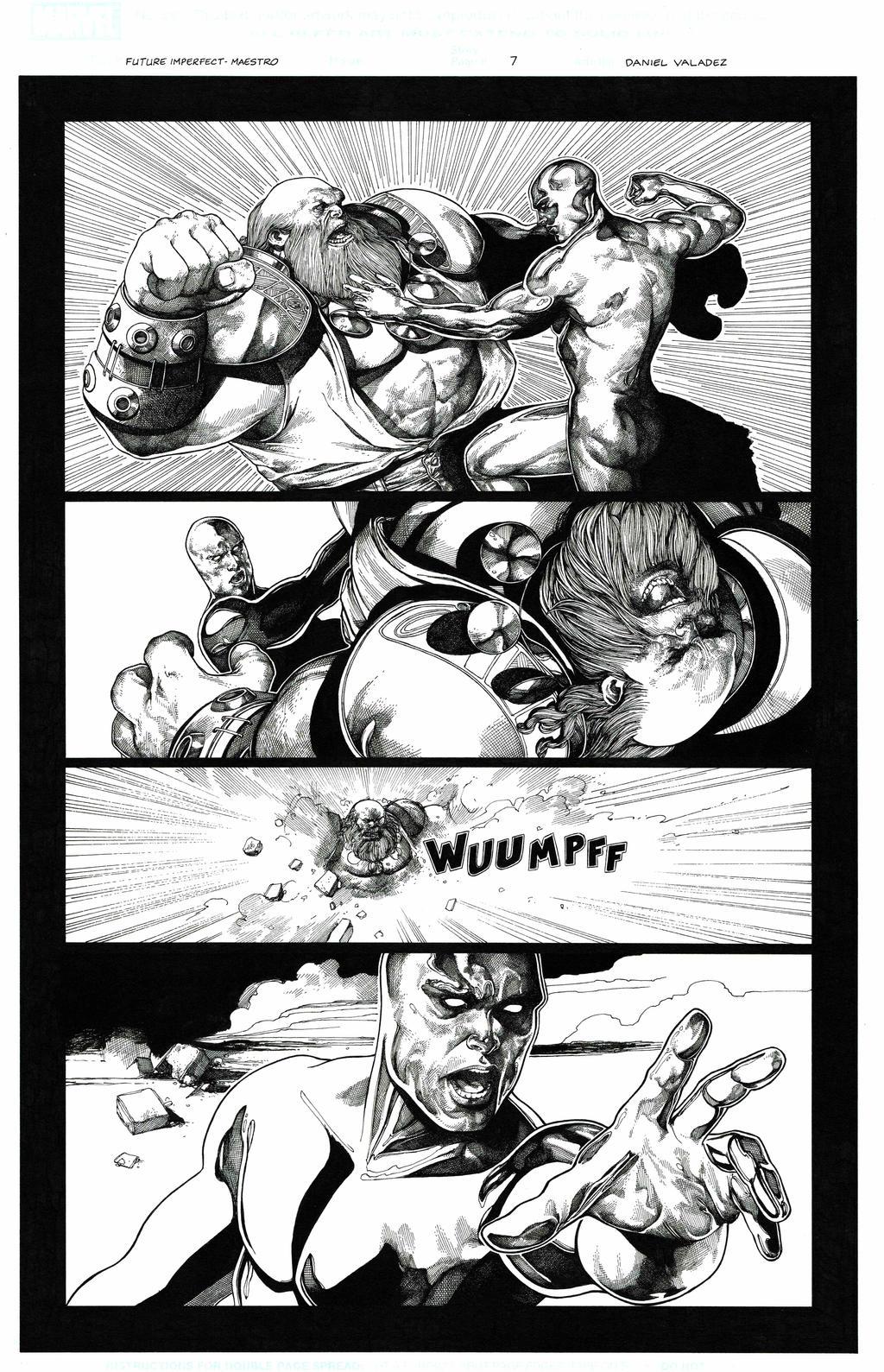 Maestro vs. Silver Surfer page 7 by danielvaladez