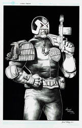 Judge Dredd by danielvaladez