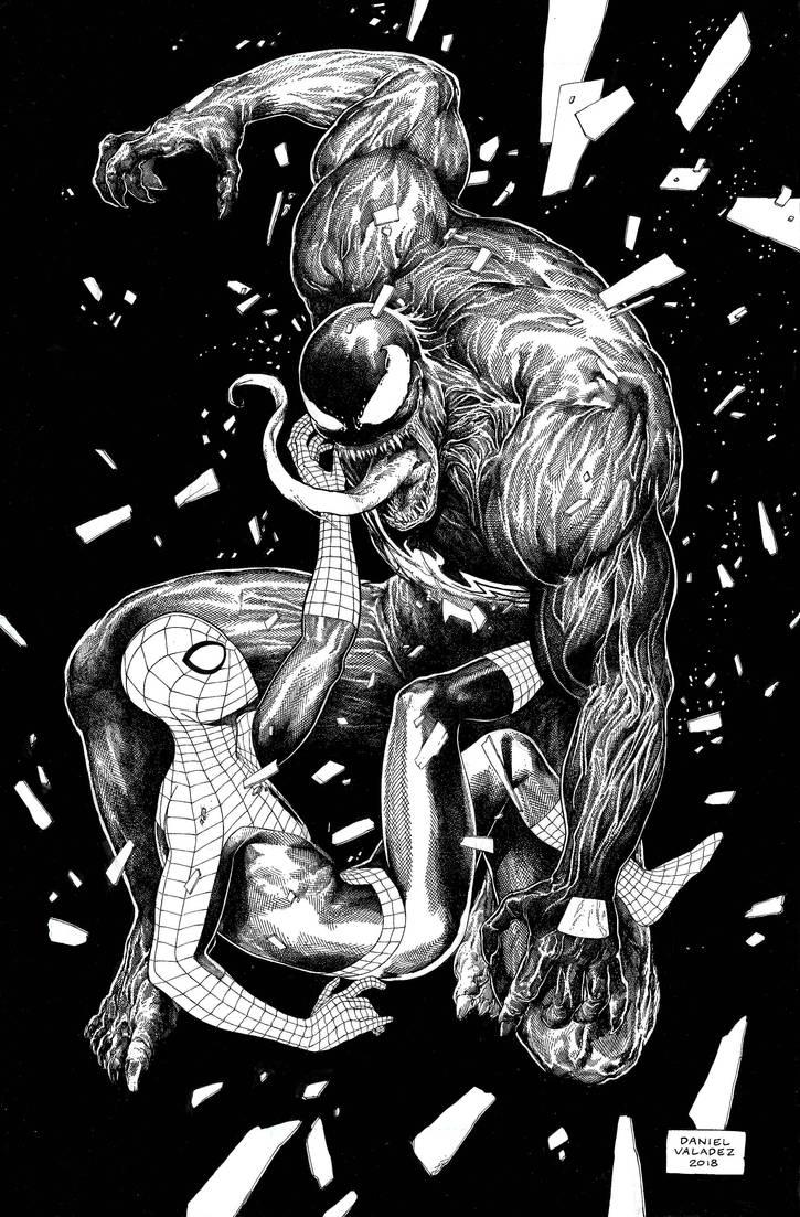 Spider-Man Venom by danielvaladez