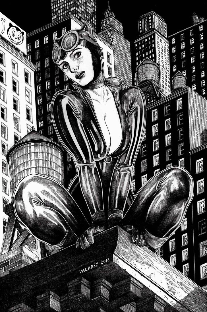 Catwoman by danielvaladez