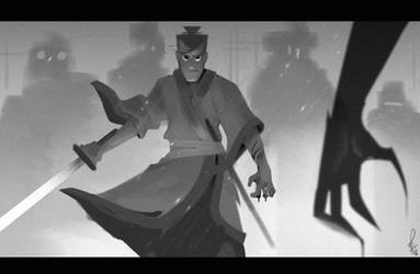 Foolish Samurai by Philtomato