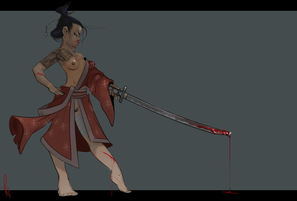 Bloody Geisha by Philtomato