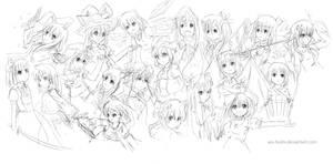 Touhou Sketchdump