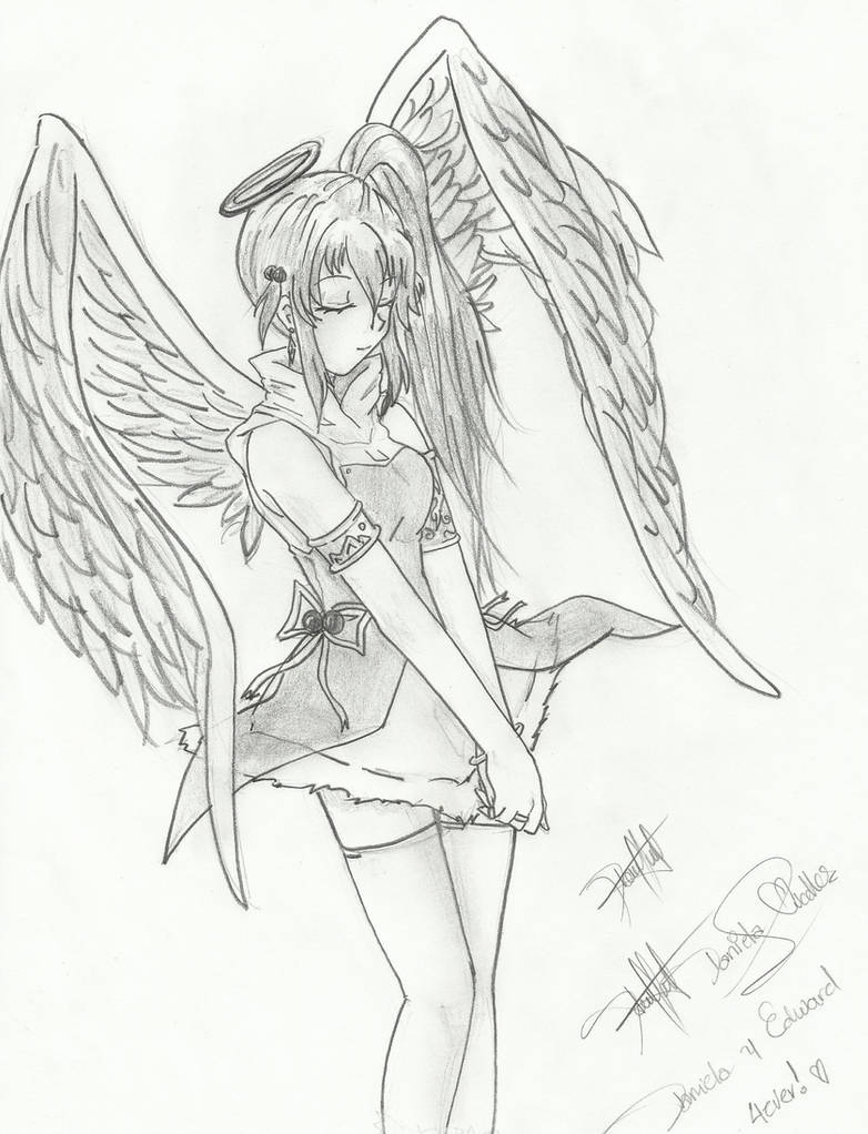 Angel Girl anime by Daniliov on DeviantArt