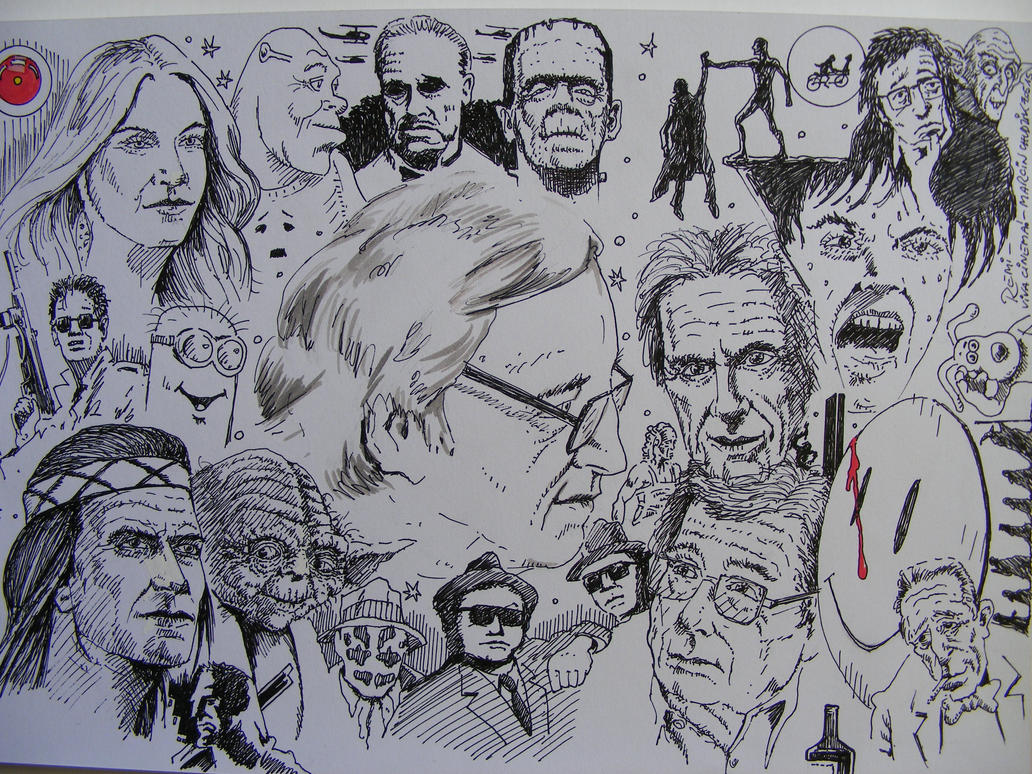 film critic Remi Drozdzynski by marcinchudzik