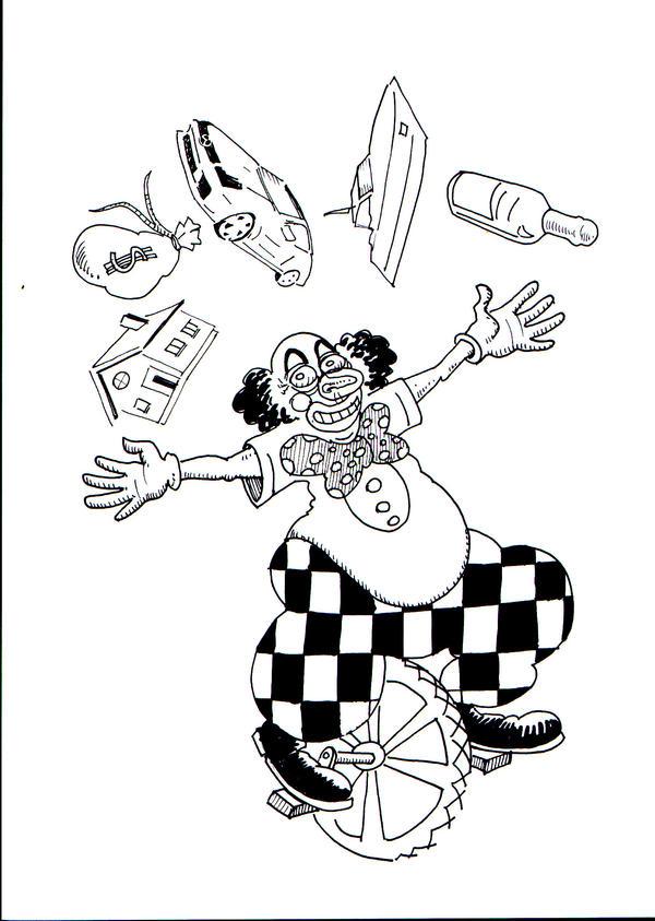 clown? by marcinchudzik