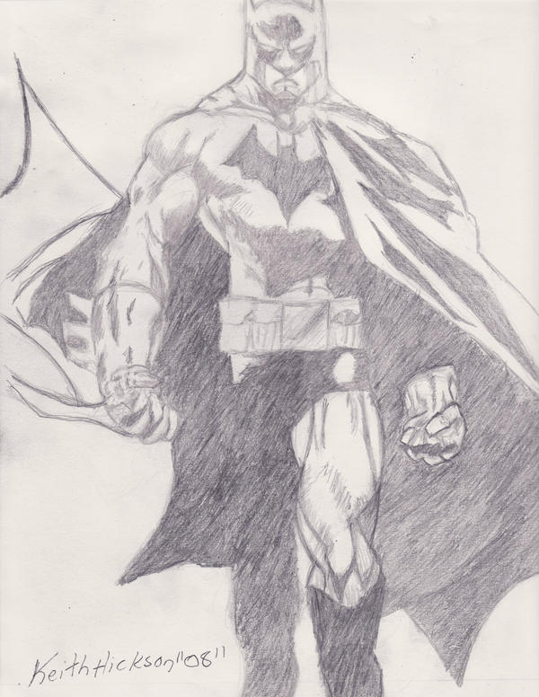 Batman Pencil Drawing 2 by Ankhu on DeviantArt