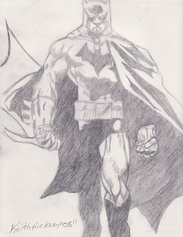 Batman Pencil Drawing 2 by Ankhu on DeviantArt