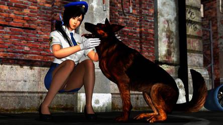 Kokoro-Policewoman-5 by YellowMyDevil