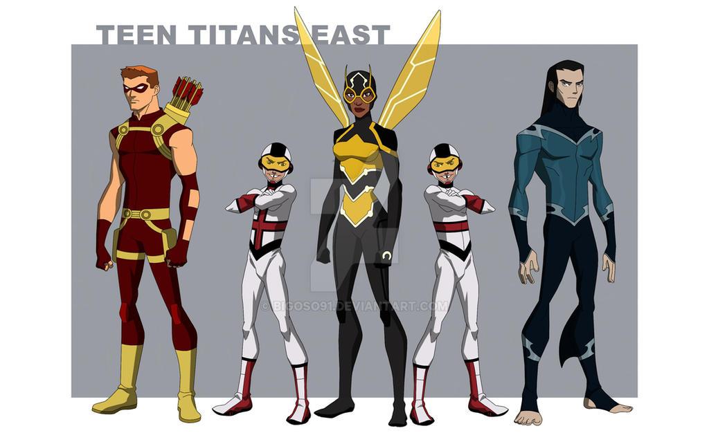 Titans East by bigoso91 on DeviantArt