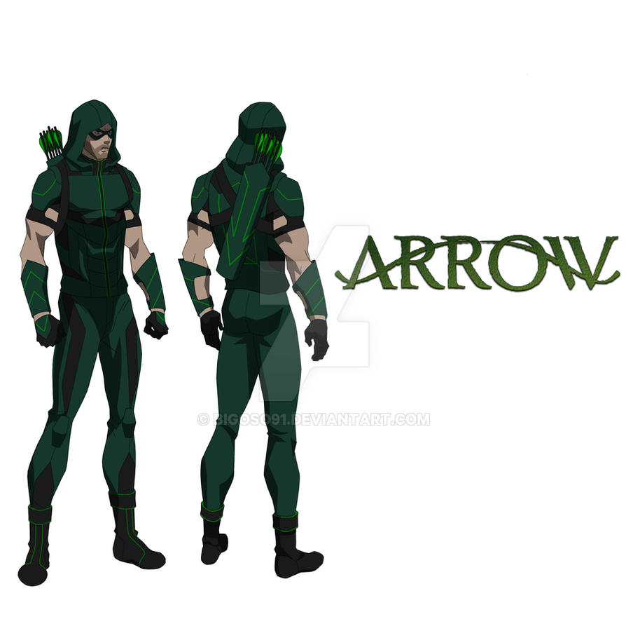Green Arrow by bigoso91 on DeviantArt