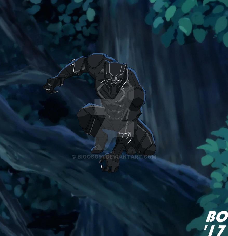 Black Panther by bigoso91