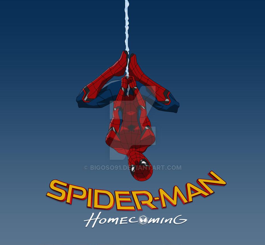 Spider-man homecoming by bigoso91