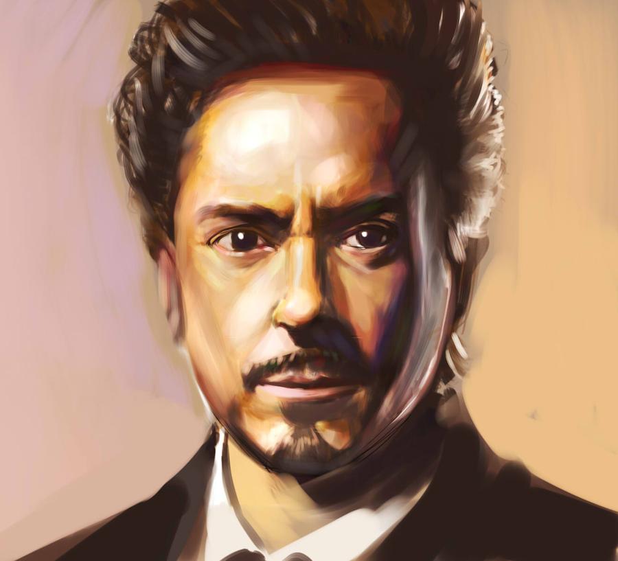 Tony Stark by Raaamen