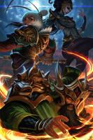 League of Legends: Lunar Revel Tribute by Raaamen