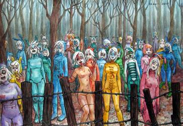 zombie's fall by skaari