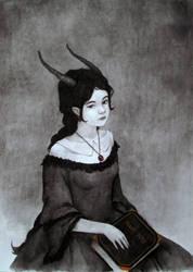 Anntelope who likes to read by skaari