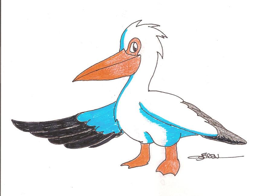 Ivan the pelicano by inufaiya