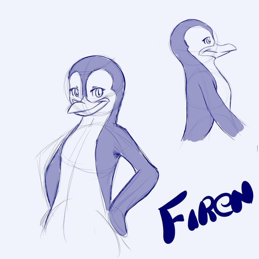 Firen boceto by inufaiya