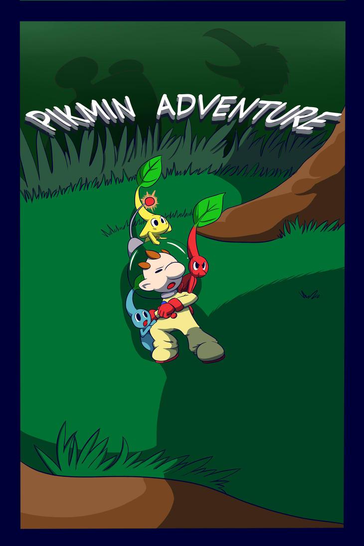 Pikmin Adventure_ Portada reformada by inufaiya