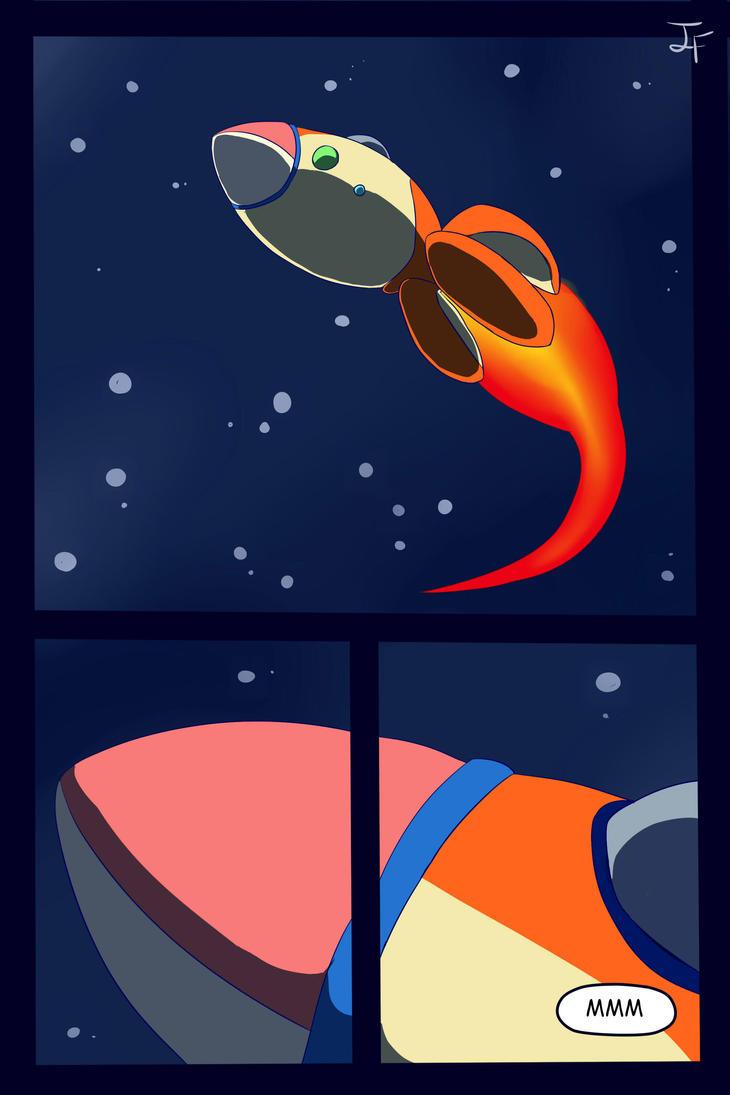 Pikmin Adventure_ El meteorito_1 by inufaiya