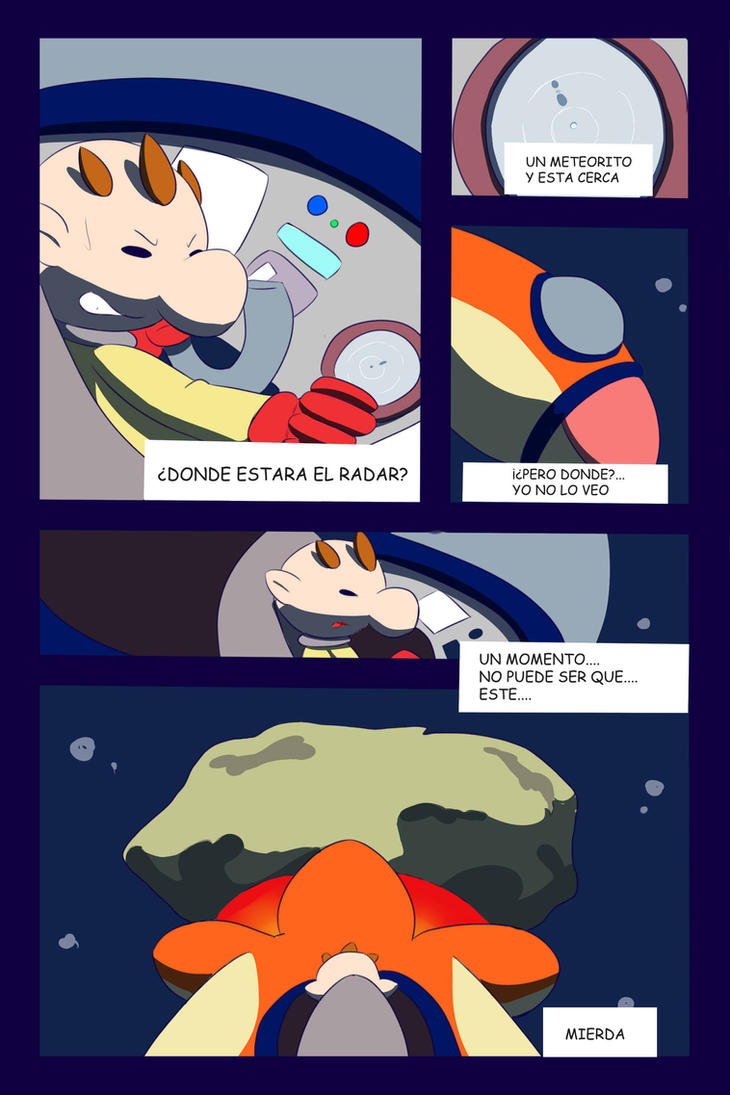 Pikmin Adventure_ El meteorito_ 6 by inufaiya