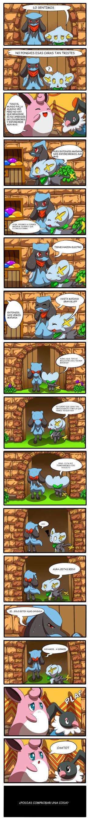 Pokemon Mystery dungeon 1 by inufaiya