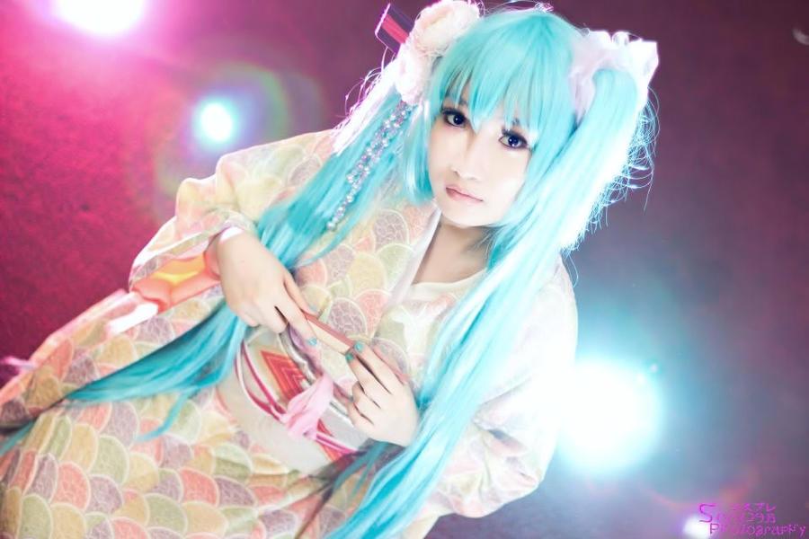 hatsune miku kimono ver