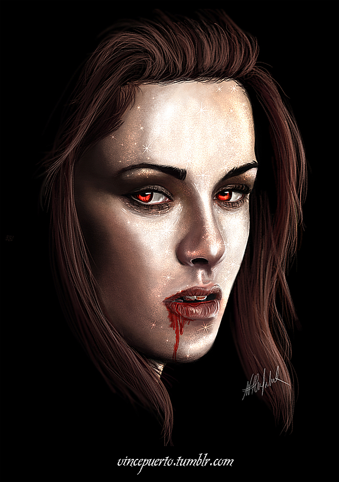 Vampire Bella Swan by Puertopalomar on DeviantArt