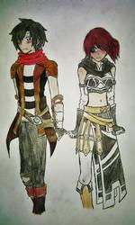 GW2 : Vitus and Karen by Danosaur192