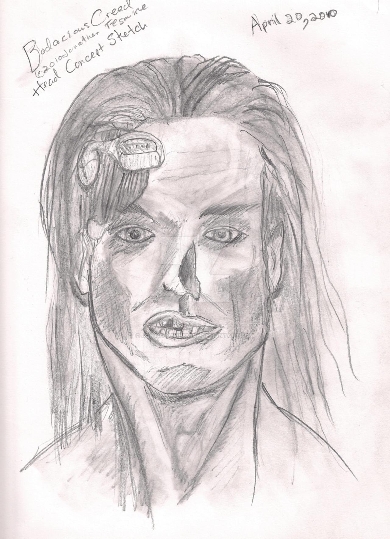 Bodacious Creed Head 01 by JonathanFesmire