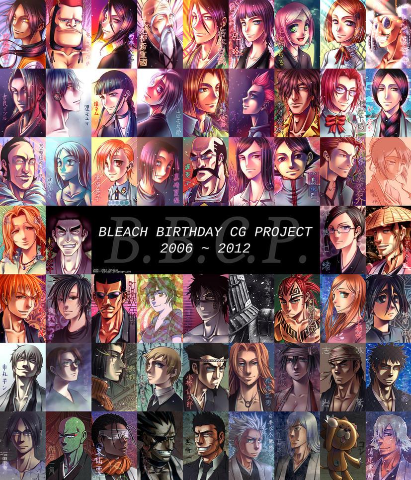 Bleach Birthday CG Project by zanazac