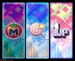Kirby Bookmark Set by zanazac