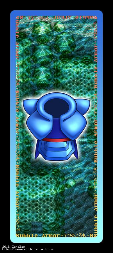 Bubble Armor Bookmark by zanazac