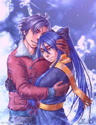 Wintry Embrace by zanazac
