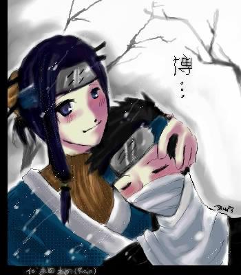 HakuZabu for Ameame -Rain- by littlemute
