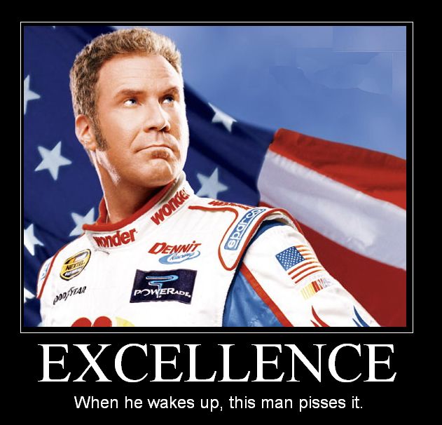 Ricky Bobby quotes ~ Top Ten Quotes