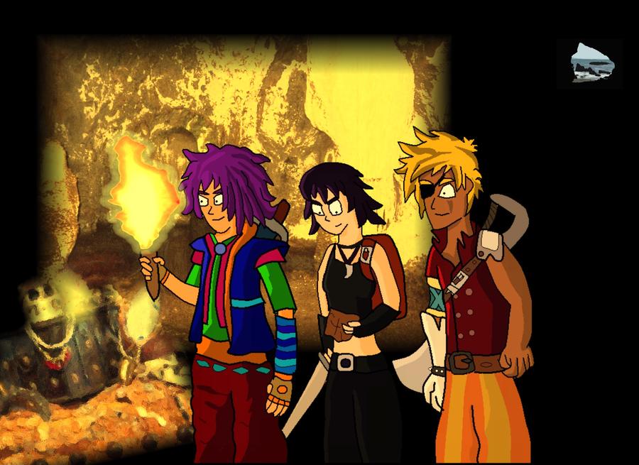 Three Extreme Explorers by SuperAshBro